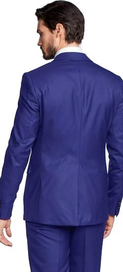 Kostuum Hoog Blauw
