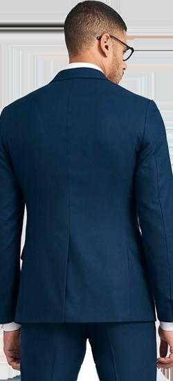 Kostuum Petrol Blauw