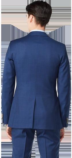 Kostuum Blauw Prince Of Wales