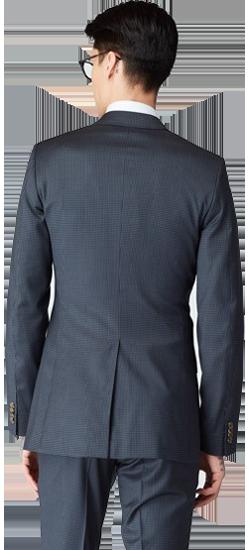 Kostuum Grey Checkered